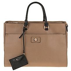 Parfois - Hand bag briefcases false taupe