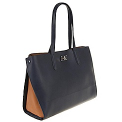 Parfois - Hand bag patchwork navy