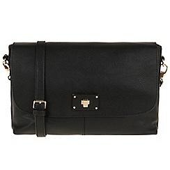 Parfois - Hand bag pvc plain crossover black