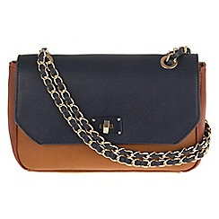 Parfois - Night tracar patchwork navy