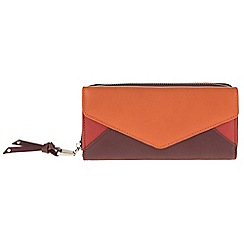 Parfois - Orange 'Envelop' wallet