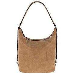 Parfois - Camel flaps handbag