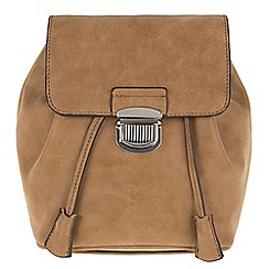 Parfois - Camel flaps backpack