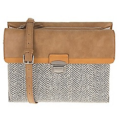 Parfois - Snake flaps cross bag