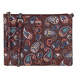 Parfois - Paisley papaya cross bag