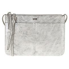 Parfois - Peach 'Silver' cross bag