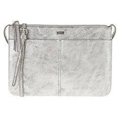 Parfois - Peach 'Silver' cross bag