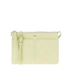 Parfois - Green 'Peach' cross bag