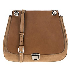 Parfois - Camel flaps cross bag