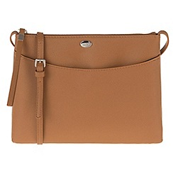 Parfois - Camel 'Pera' cross bag