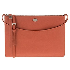 Parfois - Orange 'Pera' cross bag
