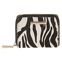 Parfois - White fluffy wallet