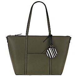 Parfois - Dark cream 'Sharp' shopper
