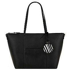 Parfois - Black 'Sharp' shopper