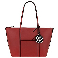 Parfois - Red 'Sharp' shopper
