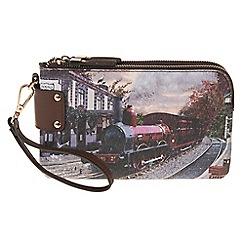 Parfois - Wine 'Train' multi-purpose pouch