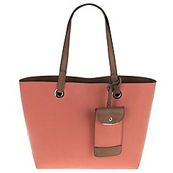 Parfois - Hand bag basic pu shopper pink