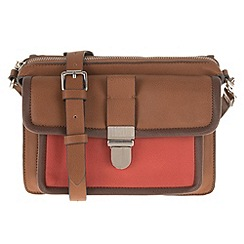Parfois - Brown comfortable rivets cross bag