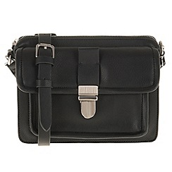 Parfois - Black comfortable rivets cross bag