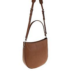 Parfois - Camel comfortable rivets handbag
