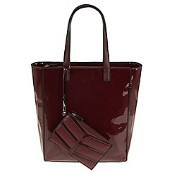 Parfois - Dark red patina shopper