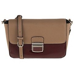 Parfois - Dark red patina cross bag