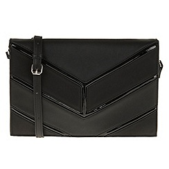 Parfois - Patina envelope clutch