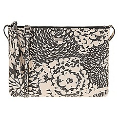 Parfois - Beige 'Papaya' print cross bag