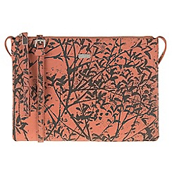 Parfois - Orange 'Papaya' print cross bag