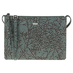 Parfois - Green 'Papaya' print cross bag