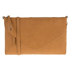 Parfois - Mustard key cross bag