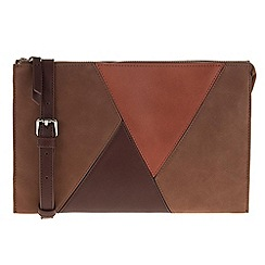 Parfois - Brown Rag clutch
