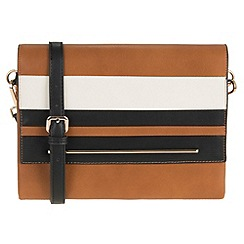 Parfois - Camel 'Divine' cross bag