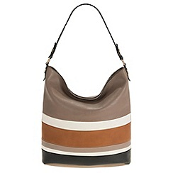 Parfois - Taupe 'Divine' cross bag