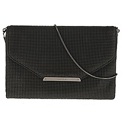 Parfois - Black 'Mini mesh' clutch