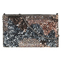 Parfois - Party cross body lantejoulas black