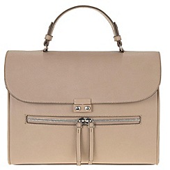 Parfois - Beige 'Block' cross bag