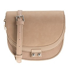 Parfois - Cream 'Block' cross bag