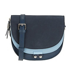 Parfois - Navy 'Block' cross bag