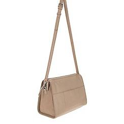Parfois - Beige 'Block' handbag