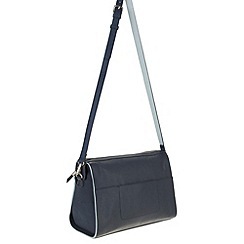 Parfois - Navy 'Block' handbag