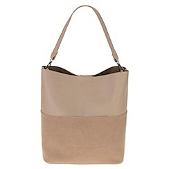 Parfois - Cream 'Block' handbag