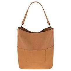 Parfois - Camel 'Block' handbag