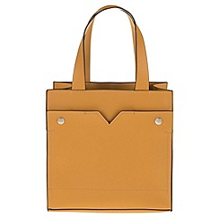 Parfois - Yellow 'Park' shopper