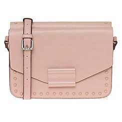 Parfois - Hand bag pink pvc plain crossover