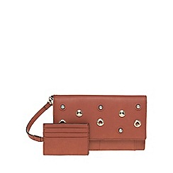 Parfois - Natural eyelets wallet document holder