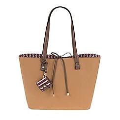 Parfois - Beige All in straw shopper