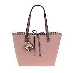 Parfois - Pink All in straw shopper
