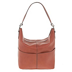Parfois - Hand bag pvc plain shoppers orange