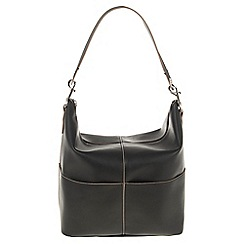 Parfois - Hand bag pvc plain shoppers black
